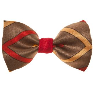 London Rush bow clip on red