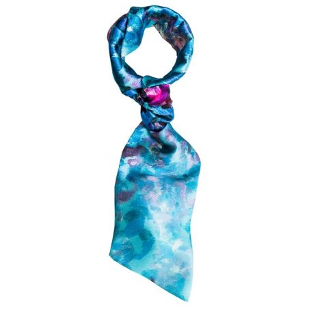 Blue scarf drive Opium