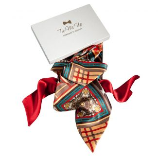 Luxury gifts: Natural silk scarves London Rush collection