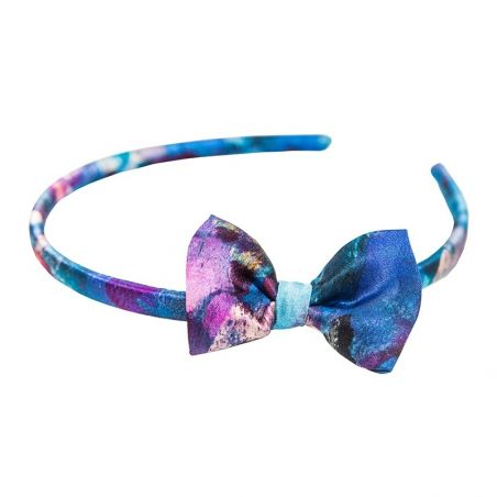 Headband cu fundita Blue Opium