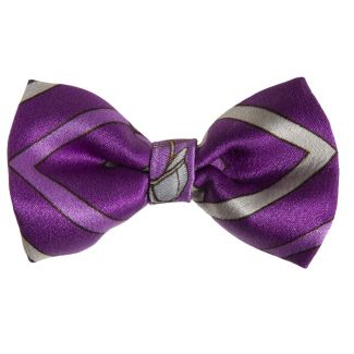 Purple London Rush bow clip