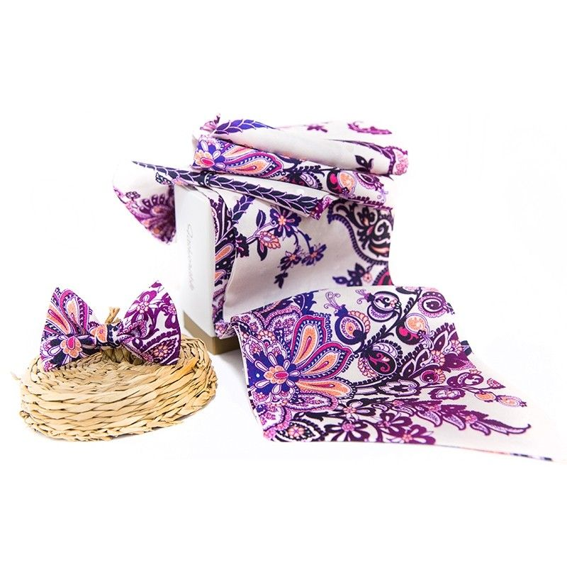GIFT: Silk Scarf and bow Grace