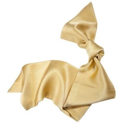 Golden hair scarf