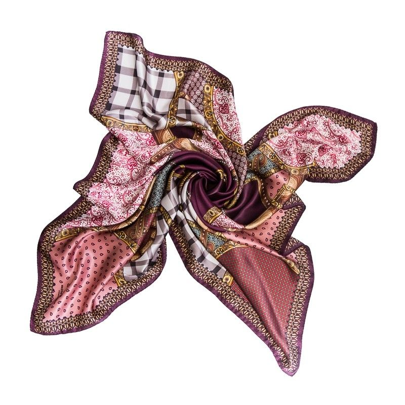 Silk Scarf Mila Schon Notting Hill dusty pink