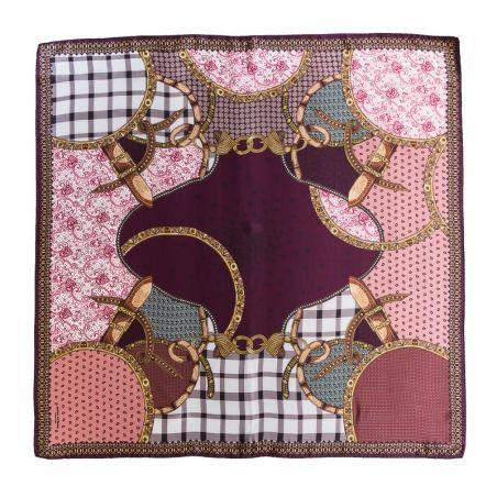 Silk Scarf Mila Schon Notting Hill dusty pink