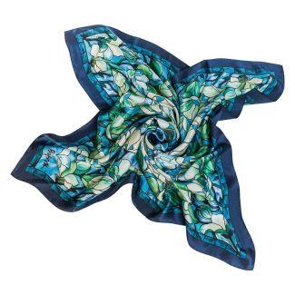 Silk Scarf Laura Biagiotti Volare turquoise