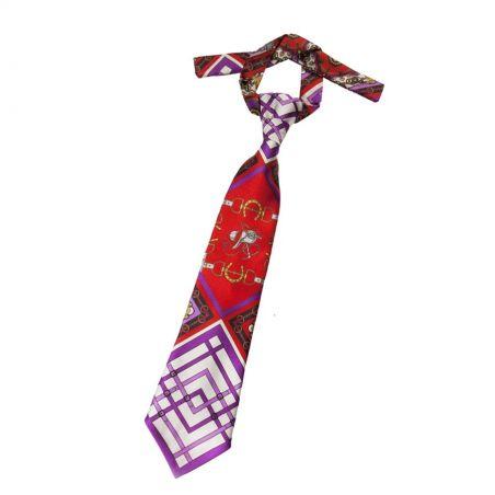 Cravată London Rush fond purple