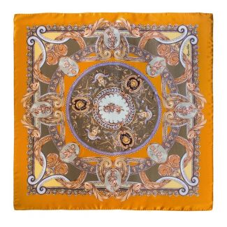 Silk Scarf Marina D'Este When In Rome caramel