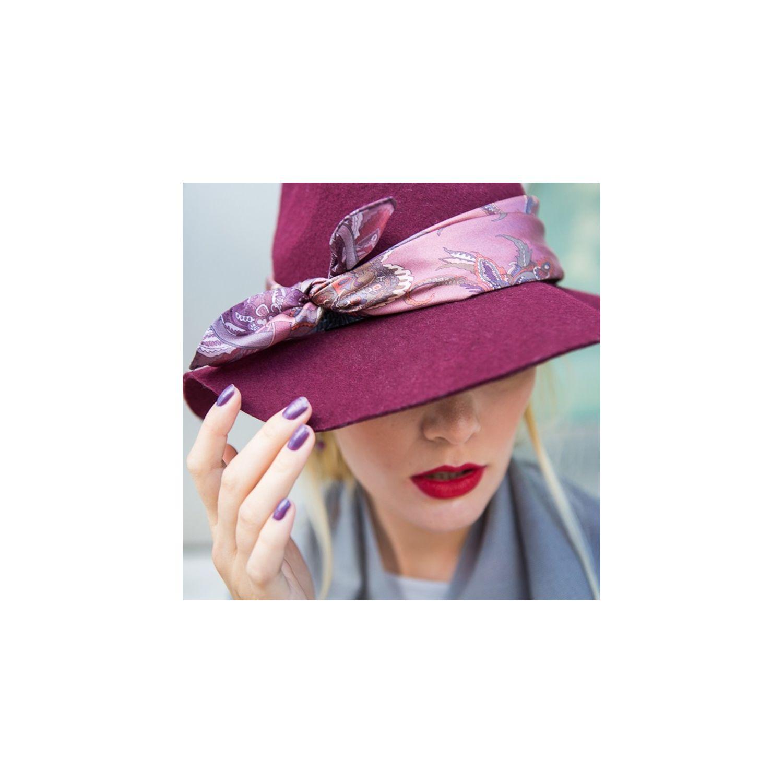 Silk Scarf Marina D'Este London Club dusty pink