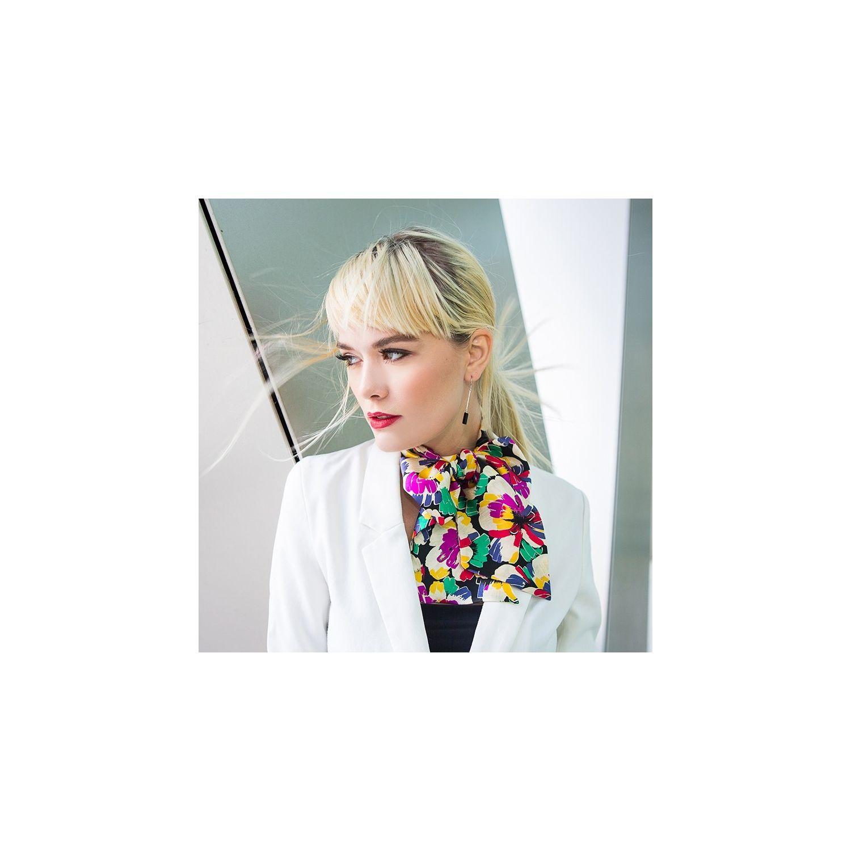 Eşarfă mătase naturală Toujour Colors