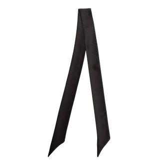 Eşarfă skinny matase neagra