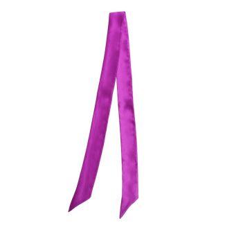 Eşarfă skinny matase Deep Pink