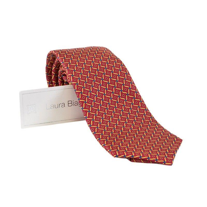 Cravata Laura Biagiotti out of office vitraliu