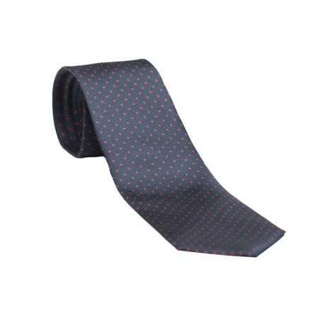 L. Biagiotti silk tie smart navy