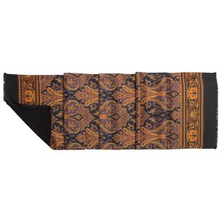 Men Scarf Laura Biagiotti golden print
