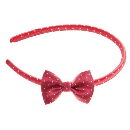Headband cu fundiţă Pretty Woman rosu
