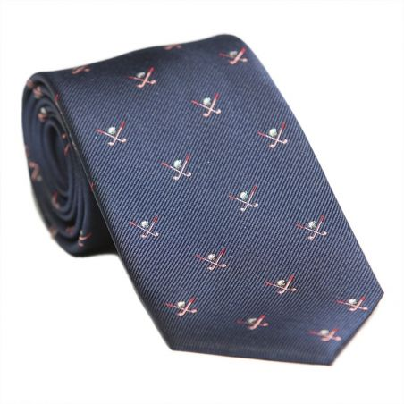 Laura Biagiotti navy silk tie golf