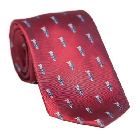 Laura Biagiotti bordo silk tie golf