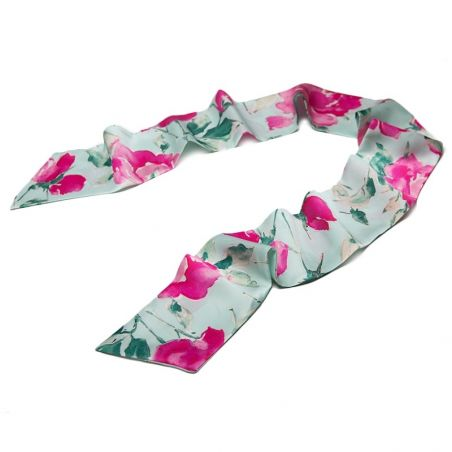 Rose Rose Silk Scarf
