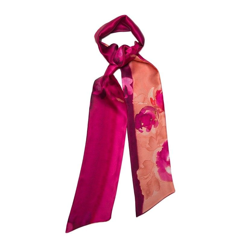 Rouge Intense Silk Scarf