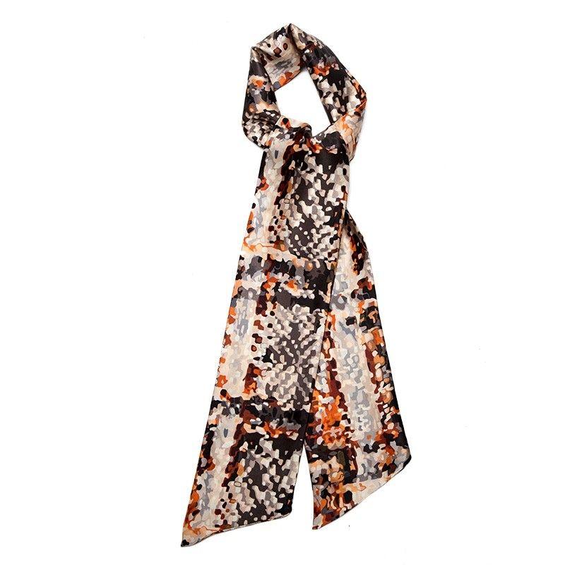 Eşarfă lunga mătase naturală Via dal Luzzo