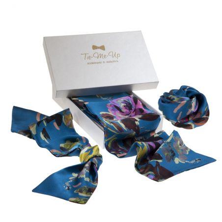 Opium scarf, hair rose & hair scarf