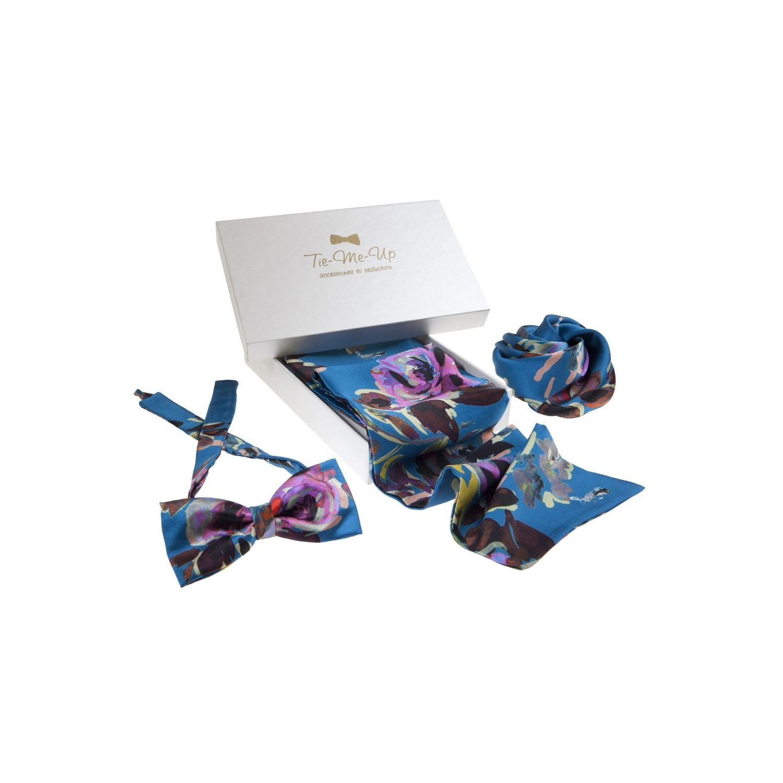 Papion, hair rose & eşarfă Opium
