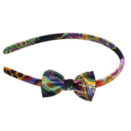 9 Lives bow headband
