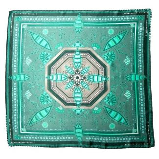 Eşarfă matase naturala Mila Schon US Hot Style green