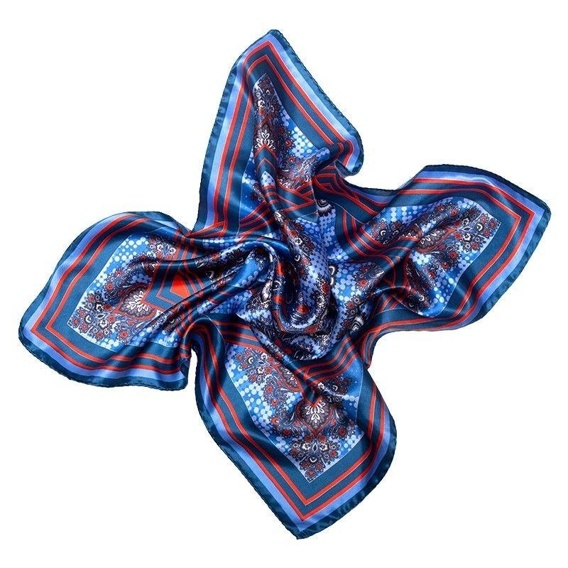 Eşarfă matase naturala Mila Schon US Hot Style lapis