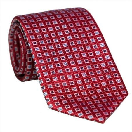 L. Biagiotti round tie navy pattern Celebration