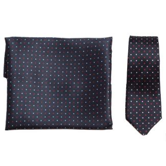 GIFT: Set handkerchief silk bow tie Mayfair