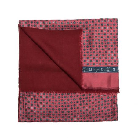 Men Scarf Laura Biagiotti smart red/bordo