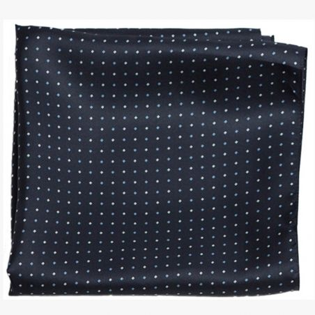 Men Scarf Laura Biagiotti L.Biagiotti navy blue dots
