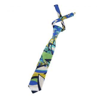 Cravată Blue Spring