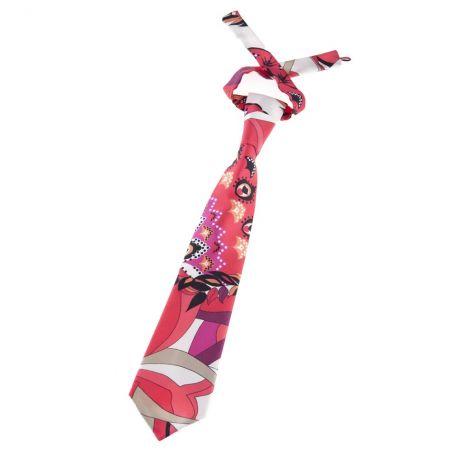 Pink spring tie