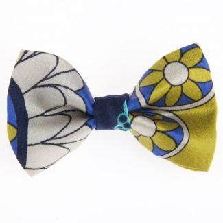 Blue Spring bow clip