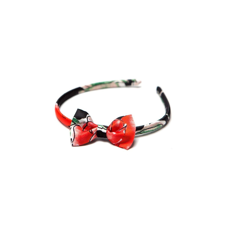 Headband cu fundita 99 roses