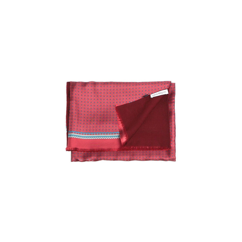 Esarfa barbati Laura Biagiotti smart print  red/bordo