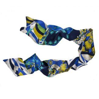 Blue Spring scarf
