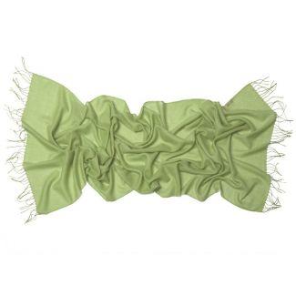 Wool Scarf Mila Schon greenery