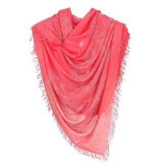 Sal cu strass fluturi corai-roz