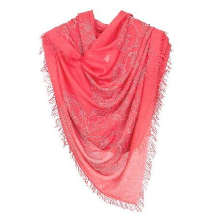 Silk Shawl Laura Biagiotti Cool red