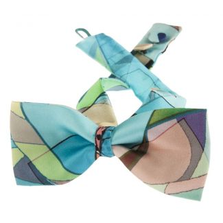 Blue Girl bow tie