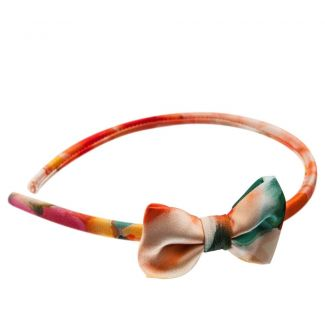 Aquarelle bow headband
