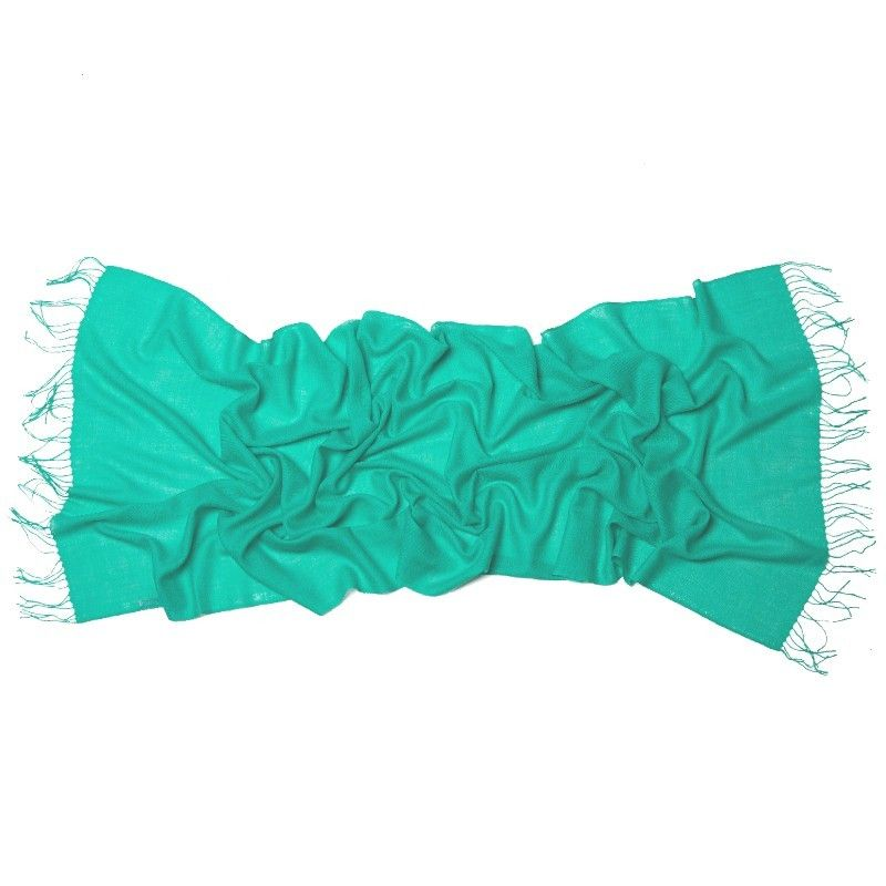 Esarfa lana Mila Schon green-turcoise