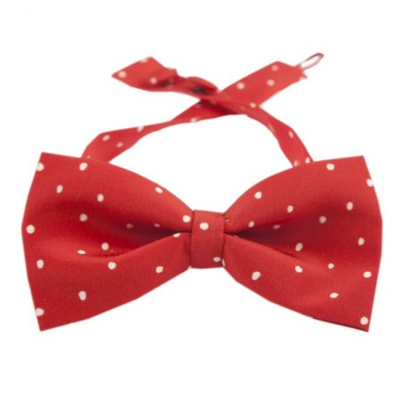 Pretty Woman bow tie on red