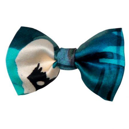 Blue Mirrors bow clip