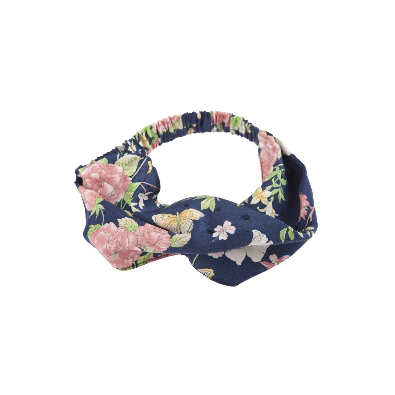 Summer headband trandafiri roz