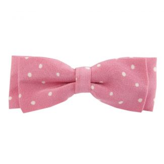 Pretty Woman on pink big bow clip